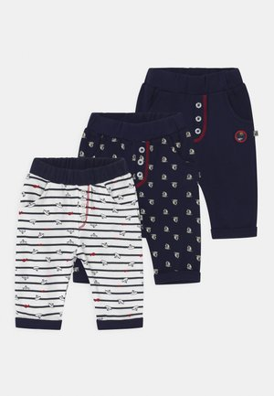 SAROUEL OCEAN CHILD 3 PACK - Trousers - dark blue/white
