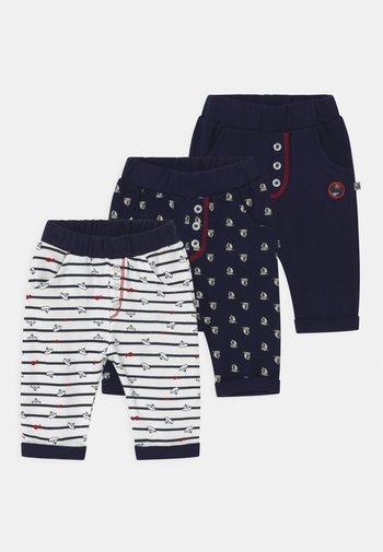SAROUEL OCEAN CHILD 3 PACK - Trousers - dark blue/white