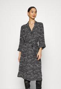 Monki - ANDIE DRESS - Day dress - black landscape - 0