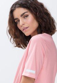 mey - LANGES SCHLAFSHIRT SERIE ZZZLEEPWEAR - Pyjama top - powder pink - 2