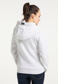 Schmuddelwedda - Zip-up hoodie - wollweiss melange - 2