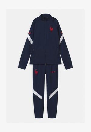 FRANKREICH SET UNISEX - Equipación de selecciones - blackened blue/university red