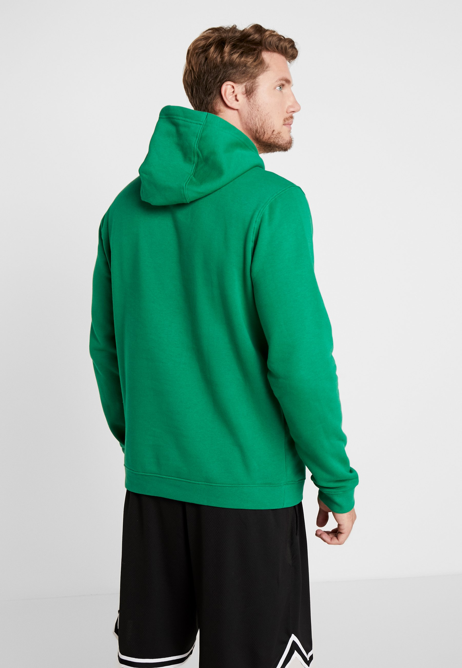 Nike Performance NBA BOSTON CELTICS LOGO HOODIE - Sweat à capuche - clover
