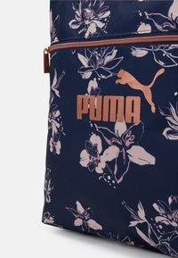 Puma - CORE SHOPPER - Tote bag - peacoat/rose gold - 3