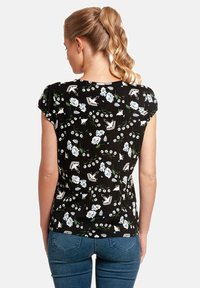 Vive Maria - PARADISE SMOKE - Print T-shirt - schwarz allover - 1