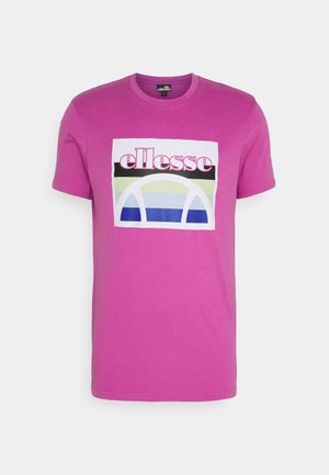 PINUPO TEE - T-shirt z nadrukiem - pink