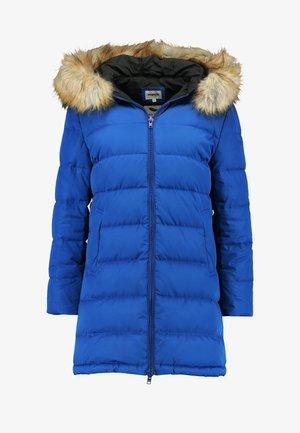 LONG PUFFER - Winter coat - mazarine blue