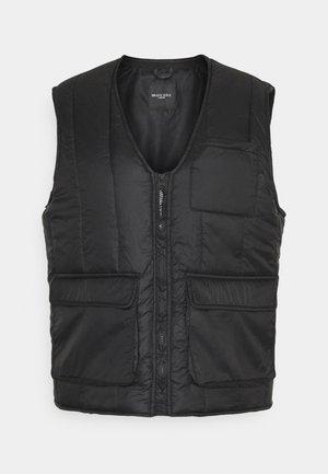 KELVIN - Waistcoat - black