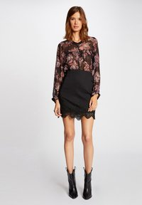 Morgan - WITH LACE - Pencil skirt - black - 1