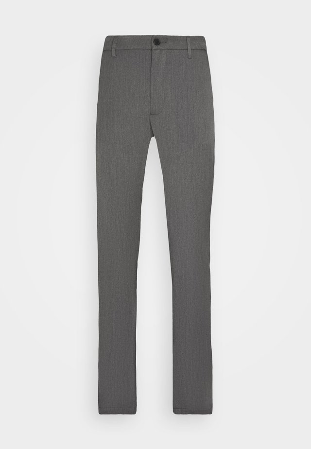 CRIMSON - Trousers - mid grey