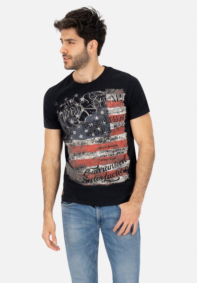ANDERSON - Print T-shirt - black