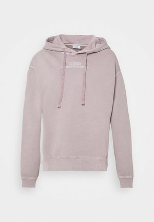 Sweatshirt - dark mauve
