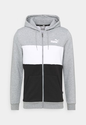 HOODIE - Sweatjacke - medium gray heather