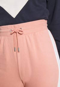 ONLY - ONLASHLEY PANTS - Pantalones deportivos - rose dawn/rose/ apple butter - 4