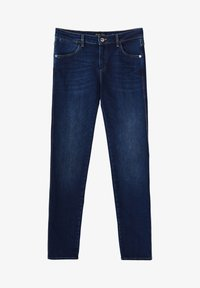 Massimo Dutti - MIT MITTELHOHEM BUND - Jeans Skinny Fit - blue - 8