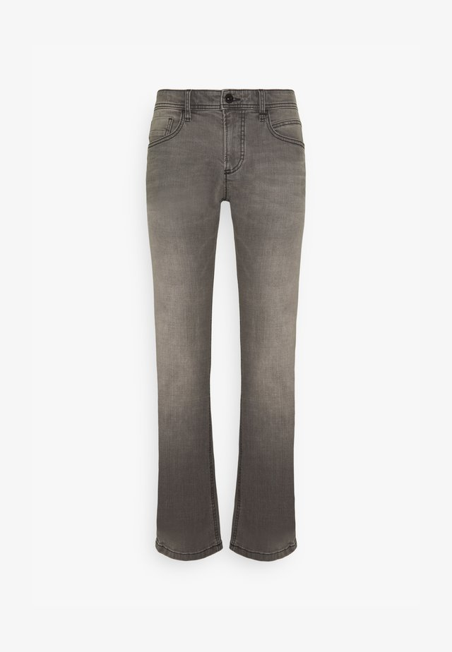 REGULAR - Straight leg jeans - grey denim