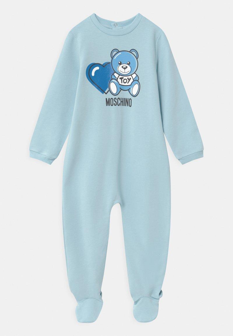 MOSCHINO - BABYGROW ADDITION - Dupačky na spaní - sky blue