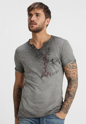 WEAPON - Print T-shirt - anthrazit