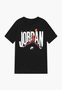 Jordan - CREW  - Triko spotiskem - black - 0