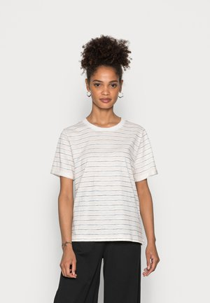 CORE COO SLUB  - Camiseta estampada - off white