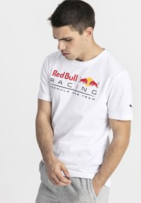 Puma - RED BULL RACING - T-shirt con stampa - white - 0
