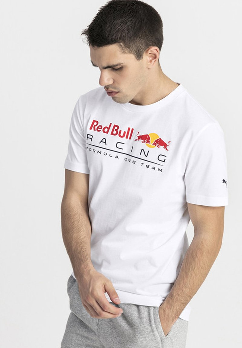 Puma - RED BULL RACING - T-shirt con stampa - white