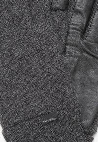 Marc O'Polo - Gloves - dark grey melange - 1