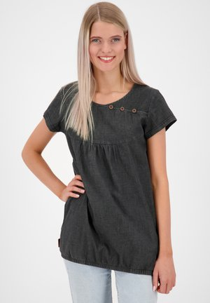 SUMMERAK  - Blouse - black denim