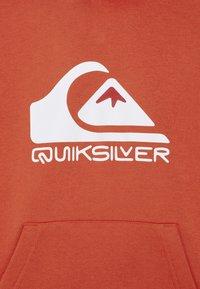 Quiksilver - BIG LOGO HOOD YOUTH - Hoodie - chili - 2