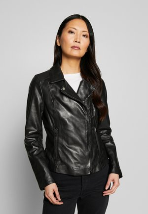 PARTY - Leather jacket - black