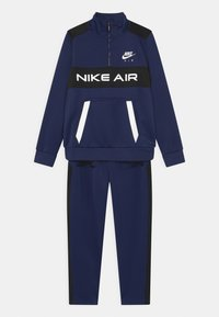 Nike Sportswear - AIR SET UNISEX - Tepláková souprava - midnight navy/black/white - 0