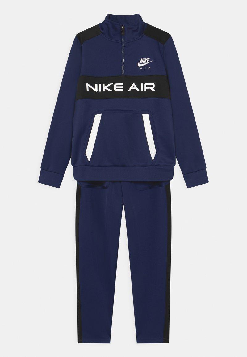 Nike Sportswear - AIR SET UNISEX - Tepláková souprava - midnight navy/black/white