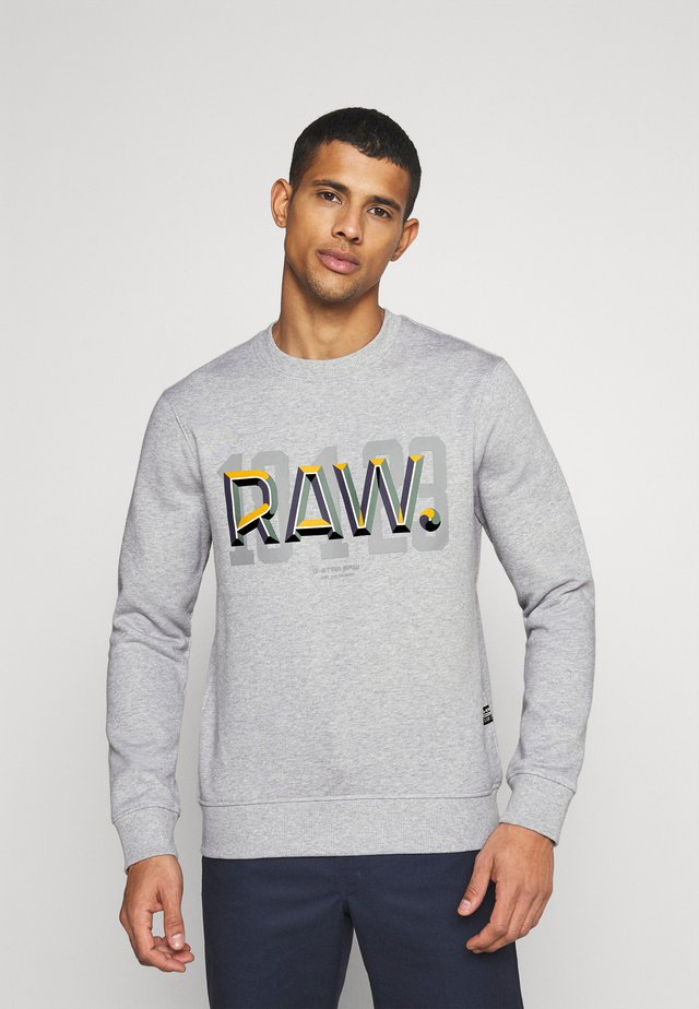 RAW - Sweatshirt - heavy sherland/grey