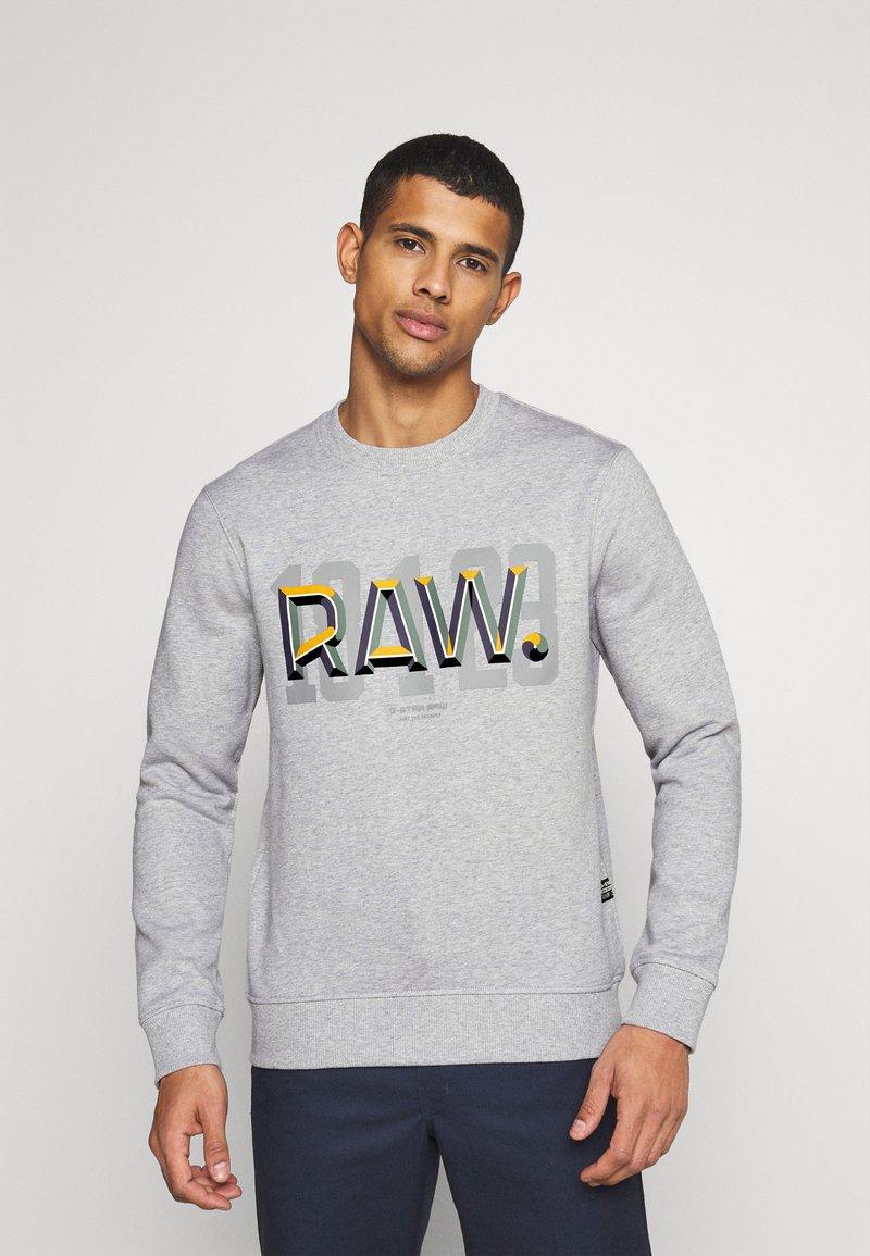 G-Star - RAW - Sweater - heavy sherland/grey