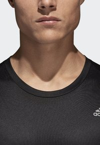 adidas Performance - RUN TEE  - T-shirts print - black - 4