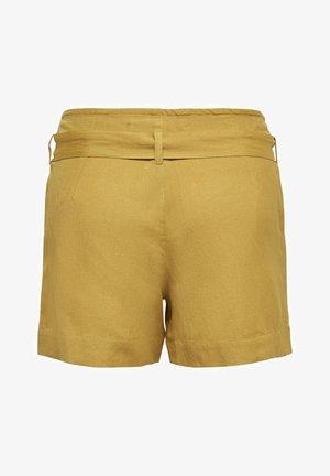ONLVIVA LIFE BELT - Shorts - golden spice