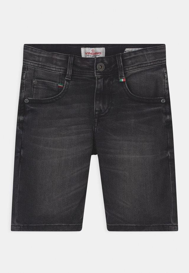 CHARLIE - Jeans Short / cowboy shorts - black vintage