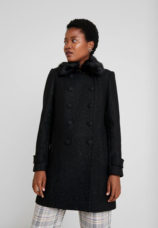 AMIRROR - Classic coat - noir