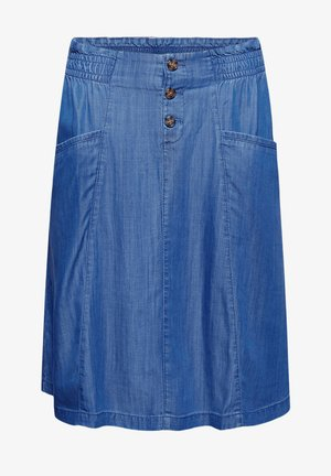 A-lijn rok - blue medium washed