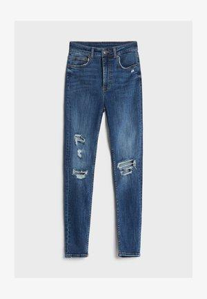 MIT SUPER HOHEM BUND - Jeans Skinny Fit - blue
