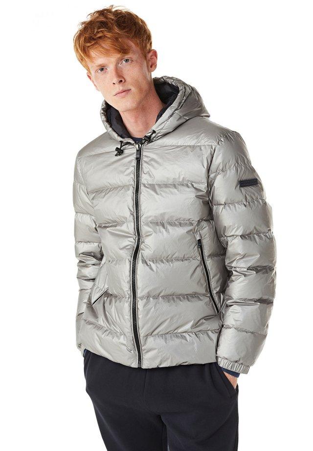 Gewatteerde jas - light grey