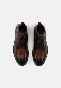 Hudson London - CEDAR - Snörstövletter - brown - 3