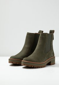 Timberland - COURMAYEUR VALLEY CHELSEA - Bottines - olive night - 4
