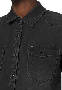 LTB - LUCINDA - Skjorte - black denim - 5