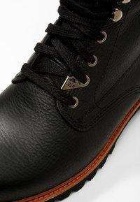 Panama Jack - AVIATOR IGLOO - Šněrovací kotníkové boty - black - 5