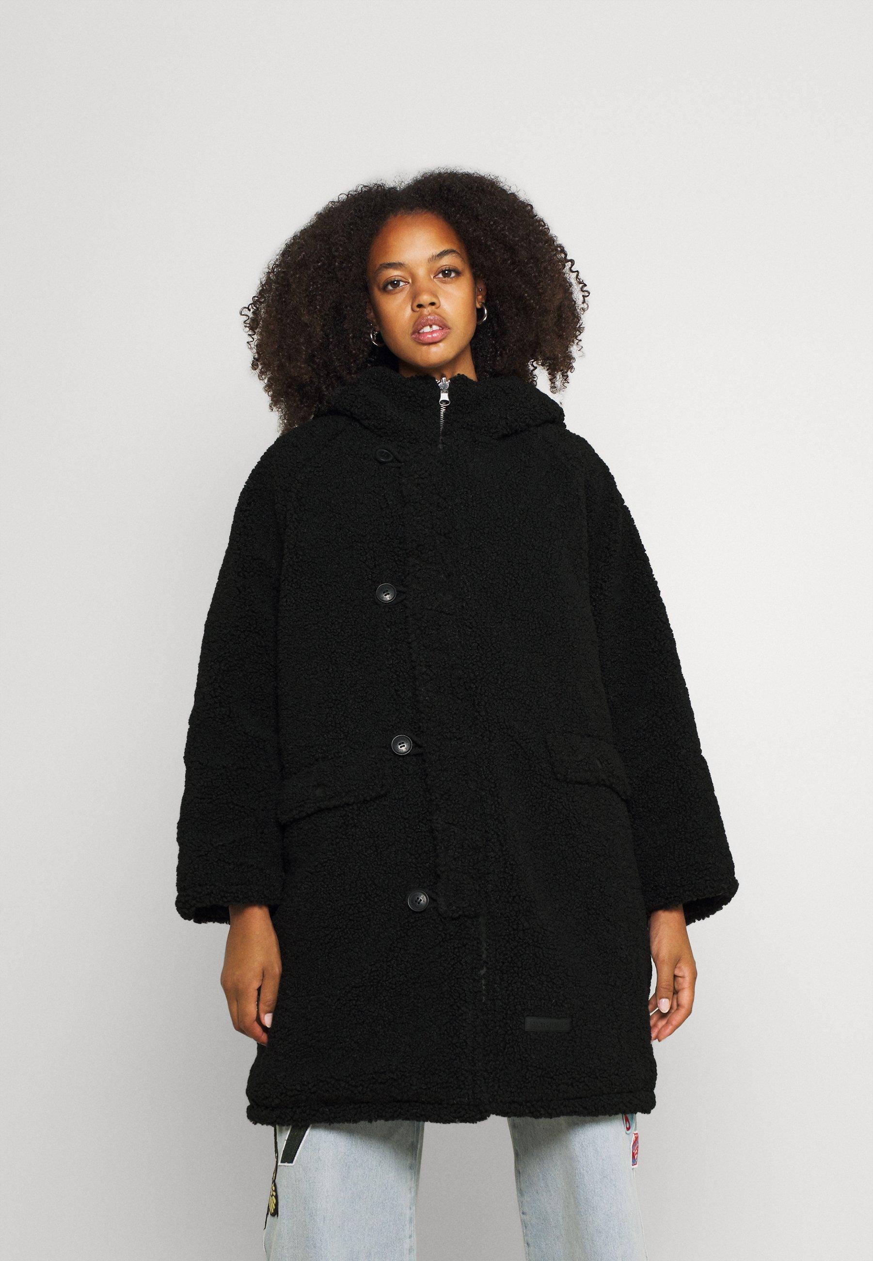 Women REVERSIBLE BORG - Winter coat
