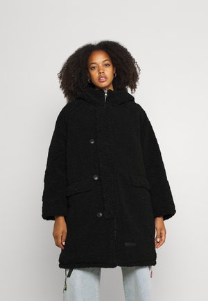 REVERSIBLE BORG - Winter coat - black