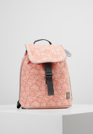 MINI DUFFLE BACKPACK SPOOKY - Batoh - peach