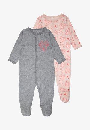 NBFMINNIE SANNY NIGHTSUIT BABY 2 PACK - Pyjamas - peachy keen