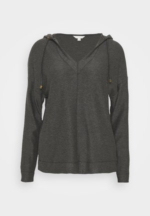 FLEXI HOODIE - Pyjama top - charcoal